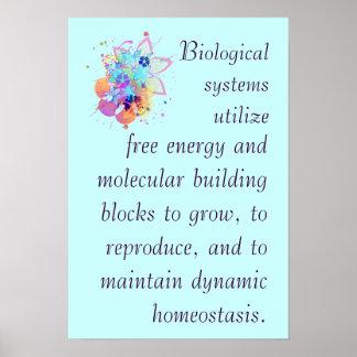Idea grande 2 de la biología del AP Poster