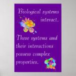 Idea grande 4 de la biología del AP Poster