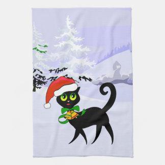 Idea linda del regalo del navidad para el amante toalla