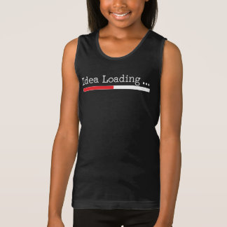 Idea Loading with Status Bar Tank Top
