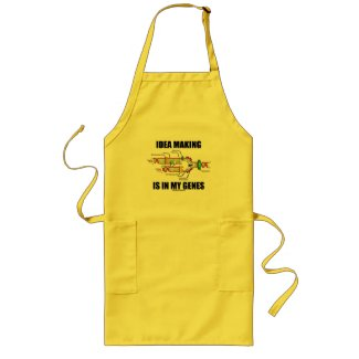 Idea Making Is In My Genes (DNA Replication) Apron