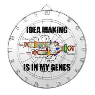 Idea Making Is In My Genes (DNA Replication) Dart Board