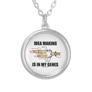 Idea Making Is In My Genes (DNA Replication) Pendants
