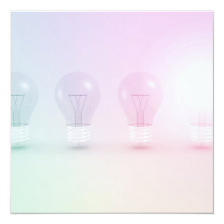 """Idea o negocio que gana como concepto invitación 5.25"""" x 5.25"""""""
