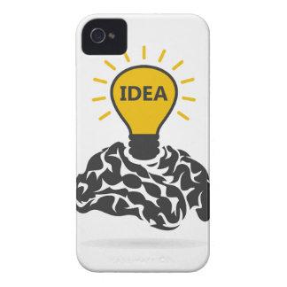 Idea of a brain iPhone 4 Case-Mate case