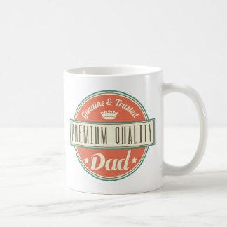 Idea superior del regalo del papá de la calidad taza clásica