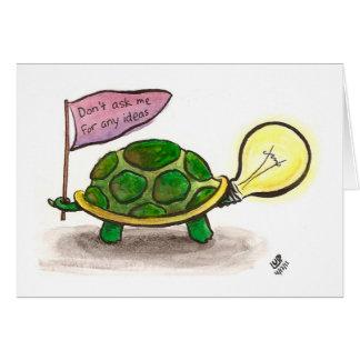 Idea Turtle Card