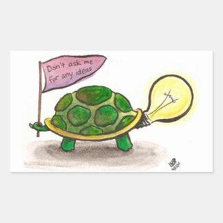 Idea Turtle Sticker