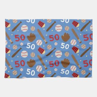 Idea uniforme del regalo del número 50 del jugador toallas