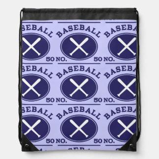 Idea uniforme del regalo del número 50 del jugador mochila