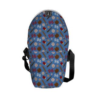 Idea uniforme del regalo del número 96 del jugador bolsas de mensajería