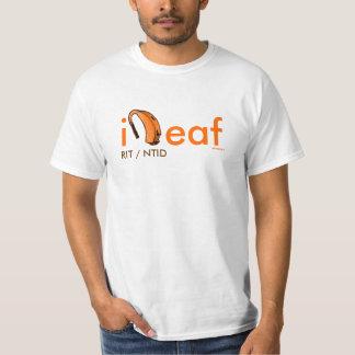 iDeaf-hearing aid, RIT/NTID -ABSdesigns Shirts