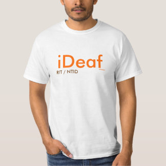 iDeaf, RIT/NTID -ABSdesigns Tshirts