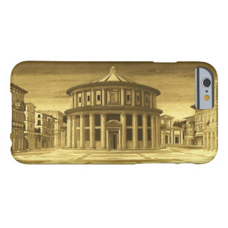 IDEAL CITY Renaissance Architect ,Gold Yellow Barely There iPhone 6 Case