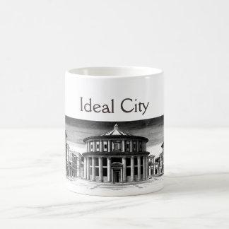 IDEAL CITY/RENAISSANCE ARCHITECTURE,ARCHITECT COFFEE MUG