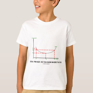 Ideal Firm Size: Do You Know Where That Is? T-Shirt