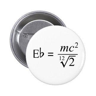 Ideal for the Music and Science geek! Pinback Button