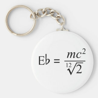 Ideal for the Music and Science geek! Keychain