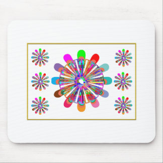 IDEAL GIFT:  LUCKY7   SevenSTAR Chakra Collection Mouse Pad