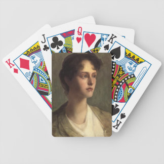 Ideal Head by Julian Alden Weir Playing Cards