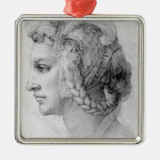 Ideal Head of a Woman, c.1525-28 Metal Ornament