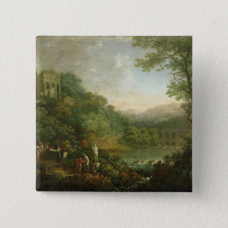 Ideal Landscape, 1776 Button