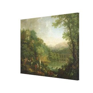 Ideal Landscape, 1776 Canvas Print