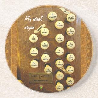 Ideal organ coaster