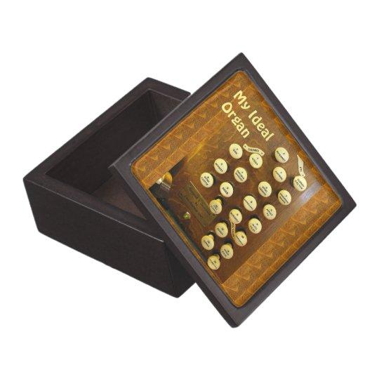 Ideal organ gift box