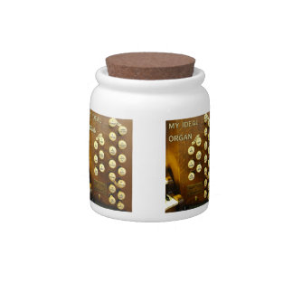 Ideal organ jar candy jar