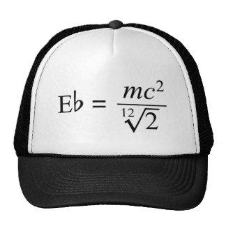 ¡Ideal para el friki de la música y de la ciencia! Gorra