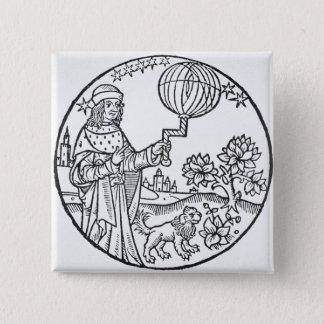 Ideal Portrait of Aristotle (384-322 BC), copy of Button