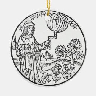 Ideal Portrait of Aristotle (384-322 BC), copy of Ceramic Ornament