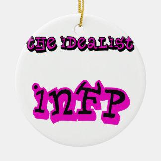 IDEALIST INFP CERAMIC ORNAMENT