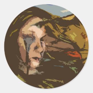 Idealized Classic Round Sticker