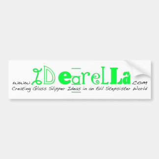 Idearella Bumper Sticker Car Bumper Sticker