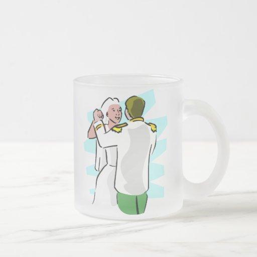 Ideas 13 de la recepción nupcial taza cristal mate