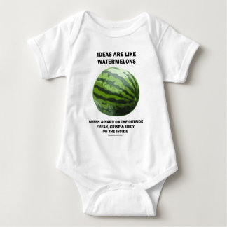 Ideas Are Like Watermelons (Food For Thought) Infant Creeper