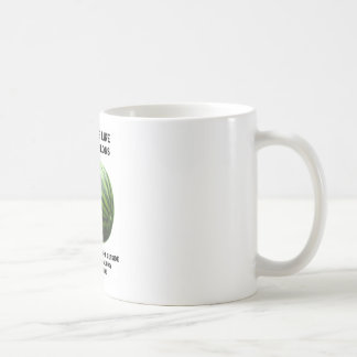 Ideas Are Like Watermelons (Food For Thought) Classic White Coffee Mug