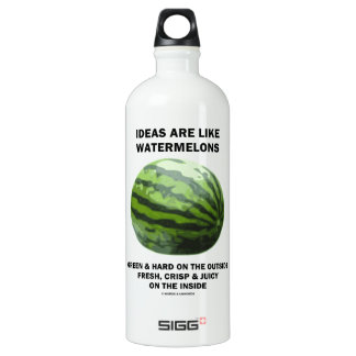 Ideas Are Like Watermelons (Food For Thought) SIGG Traveler 1.0L Water Bottle