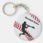 Ideas baratas del regalo del equipo de béisbol llaveros
