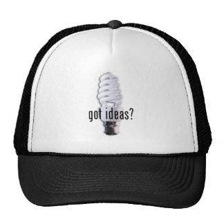 ¿Ideas conseguidas? Gorros Bordados