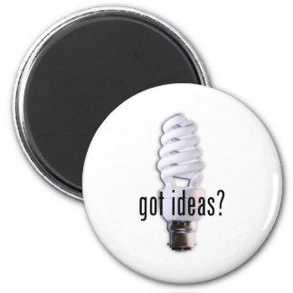 ¿Ideas conseguidas? Imán Redondo 5 Cm