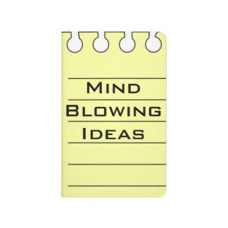 Ideas creativas divertidas personalizadas cuadernos grapados