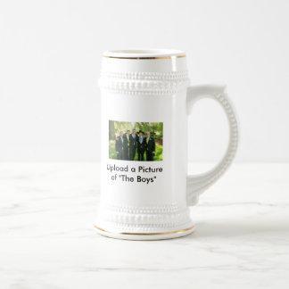 Ideas de los regalos de los padrinos de boda jarra de cerveza