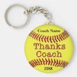 Ideas de los regalos del coche del softball con NO Llaveros Personalizados