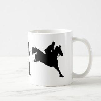 Ideas de salto del regalo de los jinetes de la taza