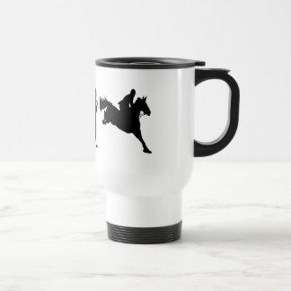 Ideas de salto del regalo de los jinetes de la taza térmica