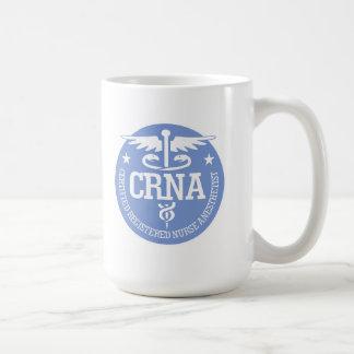 Ideas del regalo del caduceo CRNA Taza