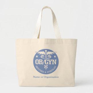 Ideas del regalo del caduceo OBGYN Bolsa Tela Grande